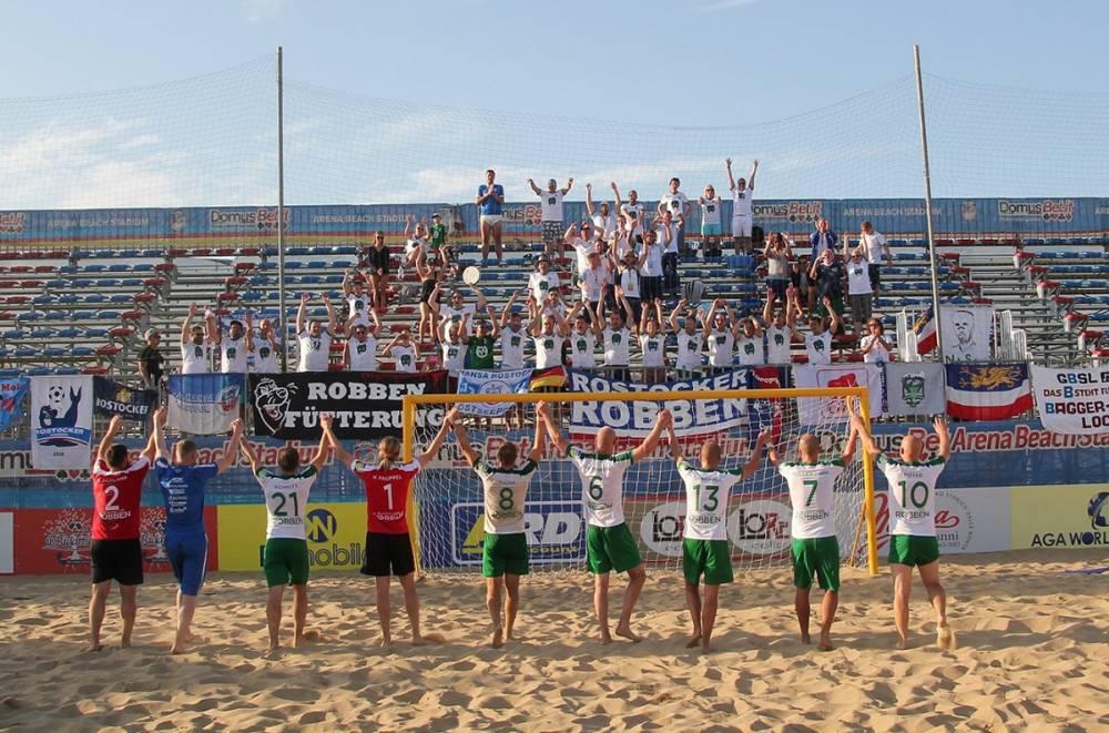 german beach soccer league