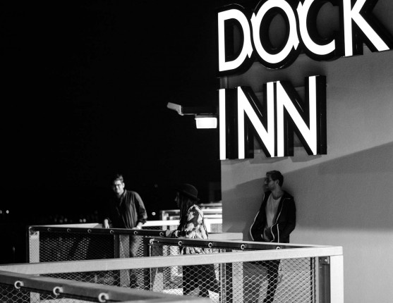 Unpainted Blue live zur Container Session im DOCK INN